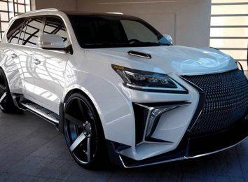 Lexus LX750h