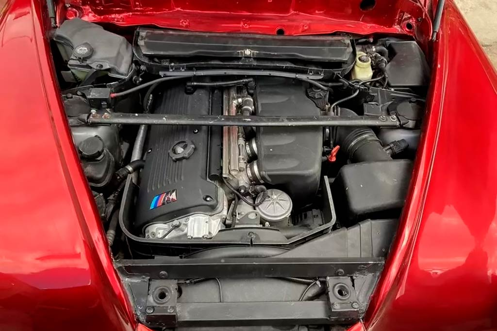 Кабриолет Победа с мотором BMW
