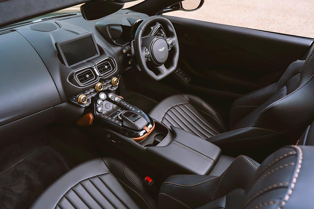 Особый Aston Martin Vantage Roadster «A3» в честь 100-летней машины