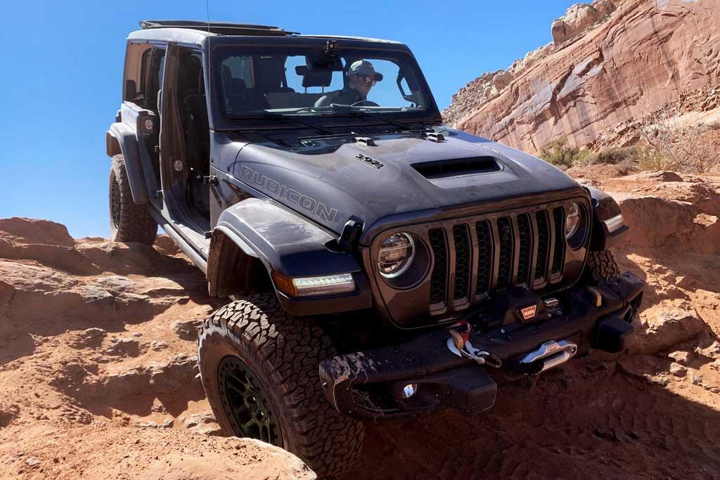 Jeep Wrangler обзавелся экстремальной внедорожной версией Xtreme Recon