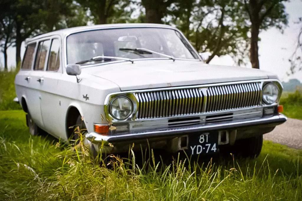 Универсал на базе ГАЗ-24 с дизельным мотором Peugeot продают в Нидерландах