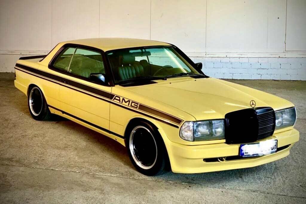 Mercedes 280CE 1983