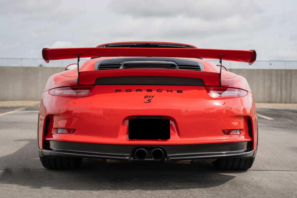Кабриолет, которого никогда не было: в продаже кастомный Porsche 911 GT3 RS Convertible