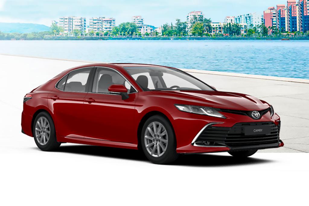 Цвета кузова новой Toyota Camry 2021: семь доступных оттенков для модели