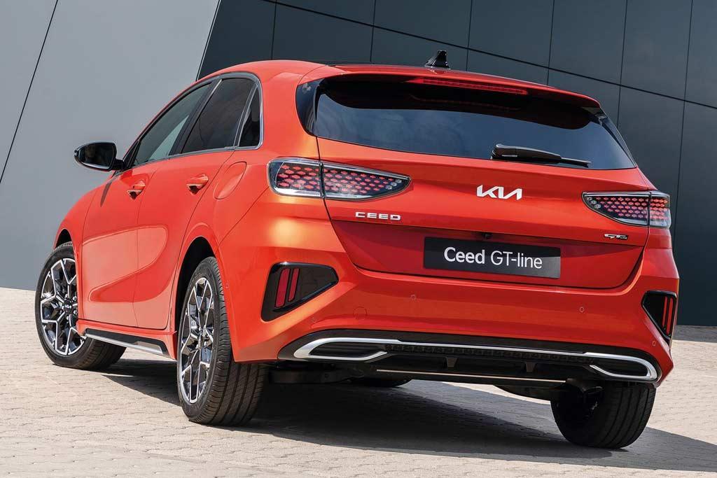 Корейцы представили линейку моделей KIA Ceed 2022: плановый рестайлинг