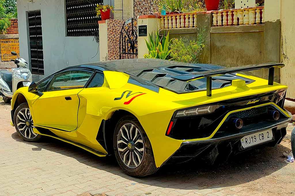 Реплика Aventador SVJ