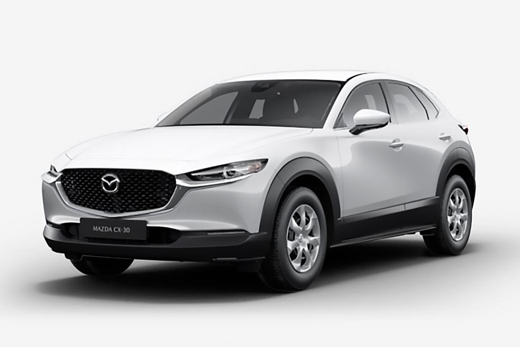 Цвета кузова новой Mazda СХ-30: девять доступных оттенков для модели
