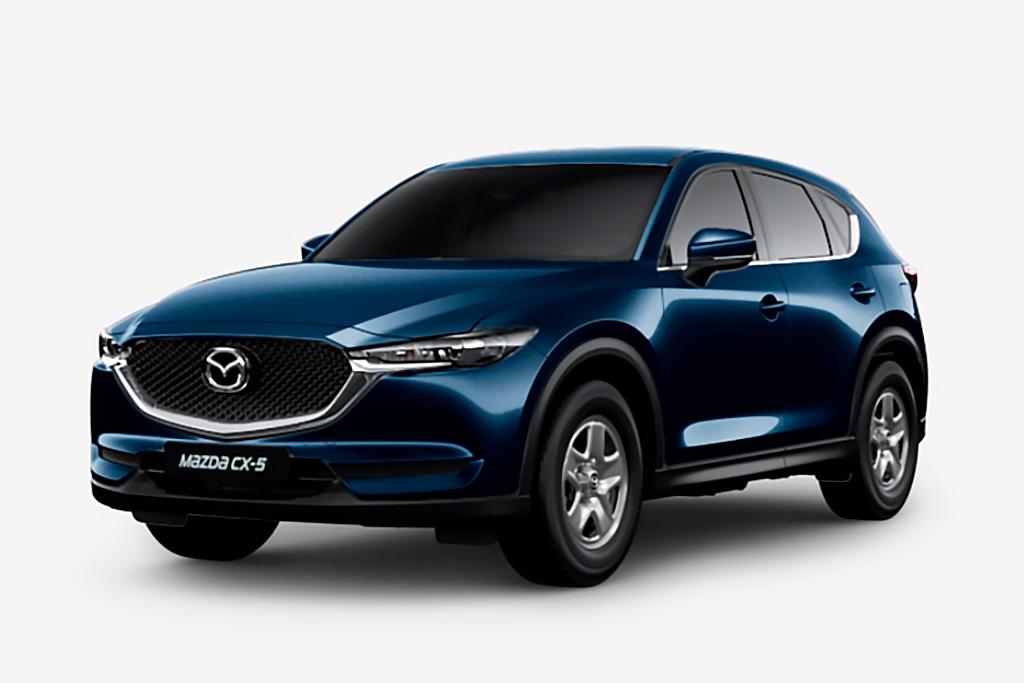 Цвета кузова нового Mazda CX-5 2021: десять доступных оттенков для модели