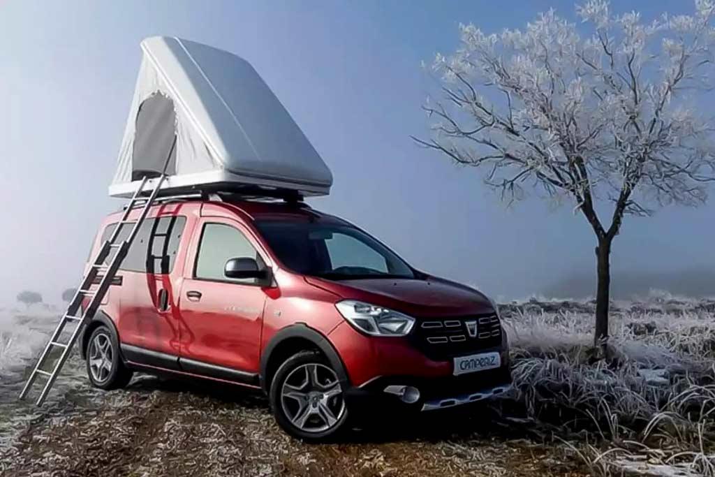 Dacia Dokker от компании Cameriz: полноценный кемпер за 1,75 млн рублей