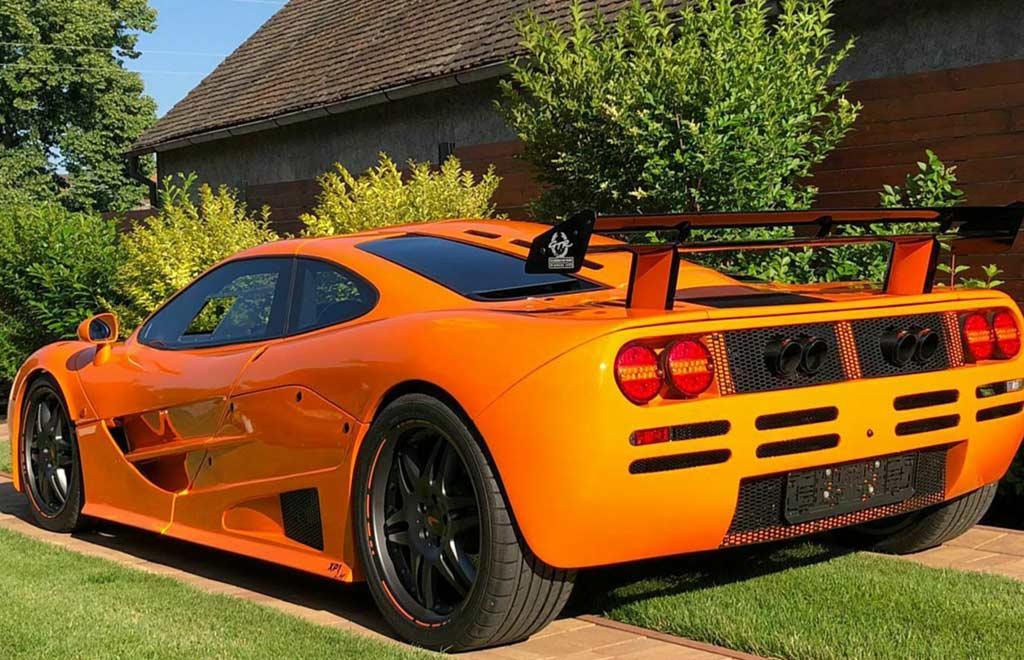 Этот McLaren F1 вполне можно принять за оригинал: такую машину продают в Чехии