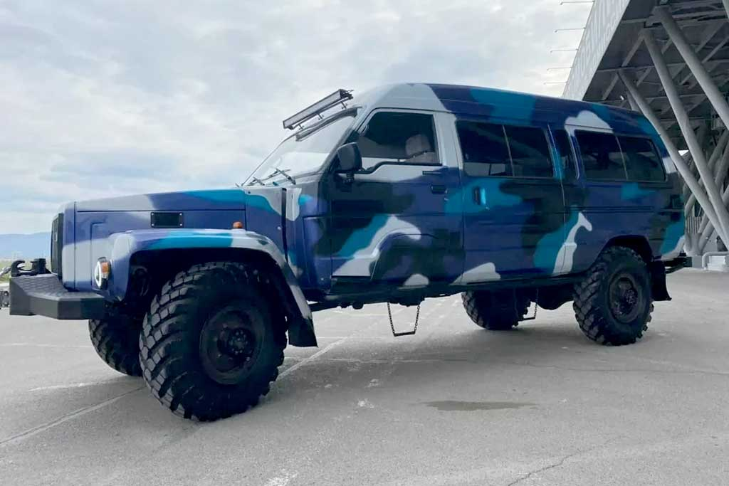 Кемпер на базе ГАЗ-66 и Isuzu