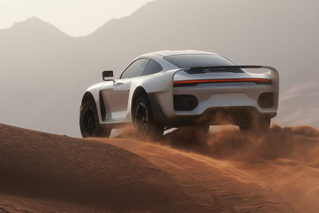Внедорожный суперкар Marc Philipp Gemballa Marsien на базе Porsche 911 Turbo S