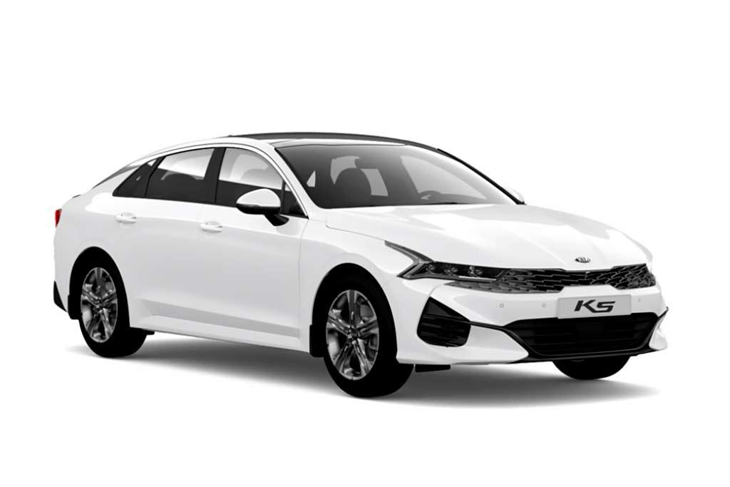 KIA K5 Clear White