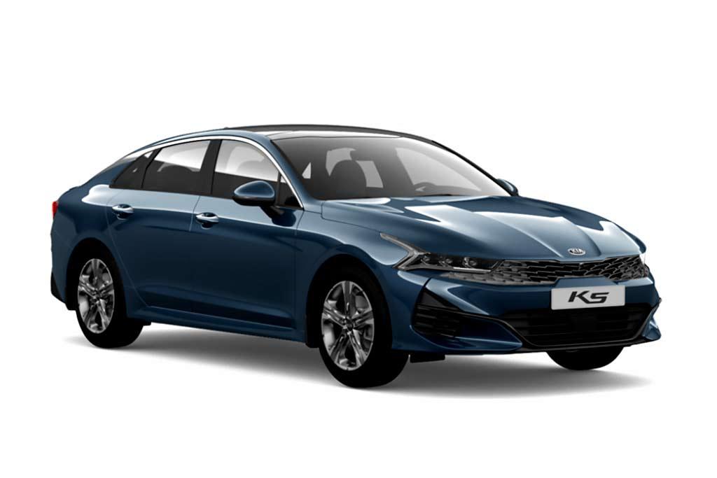 KIA K5 Gravity Blue
