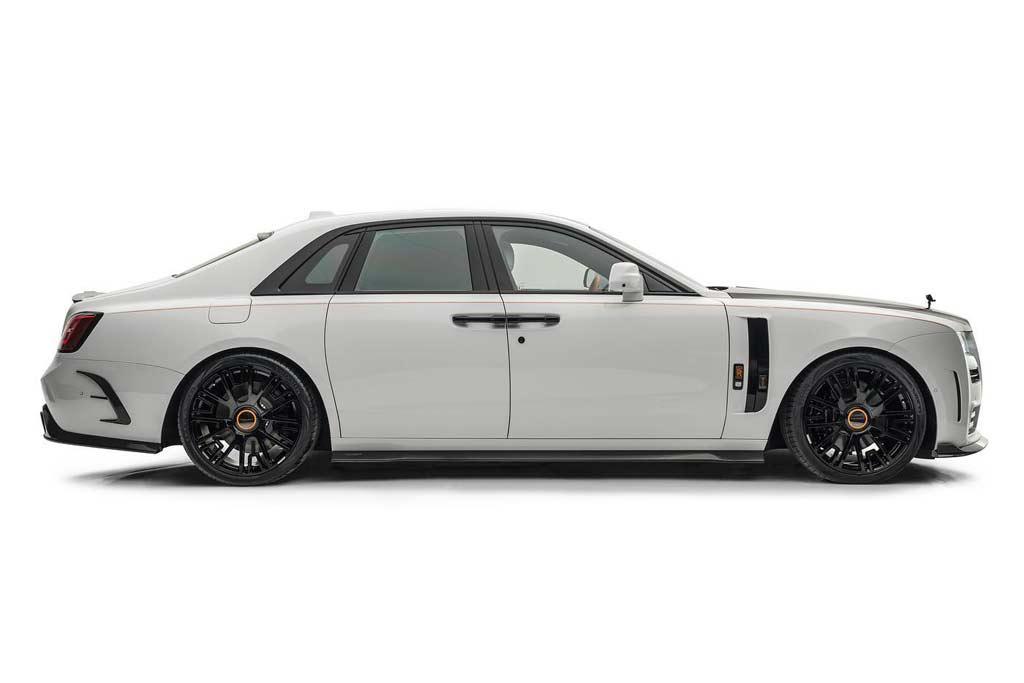 В ателье Mansory разработали тюнинг-кит для нового Rolls-Royce Ghost