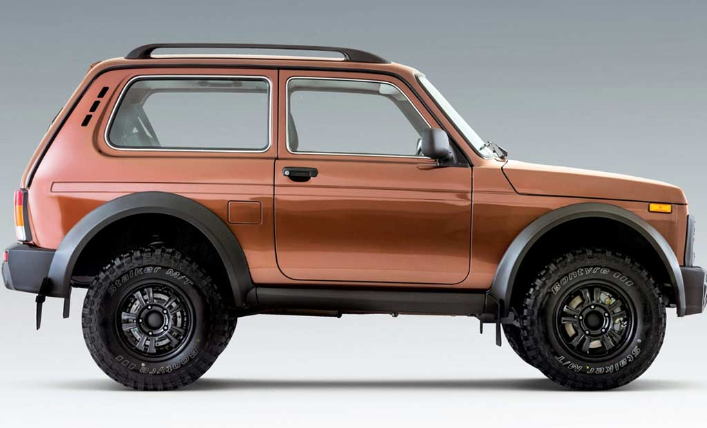 Нива на «зубастых» покрышках: представлена обновленная Lada Niva Bronto