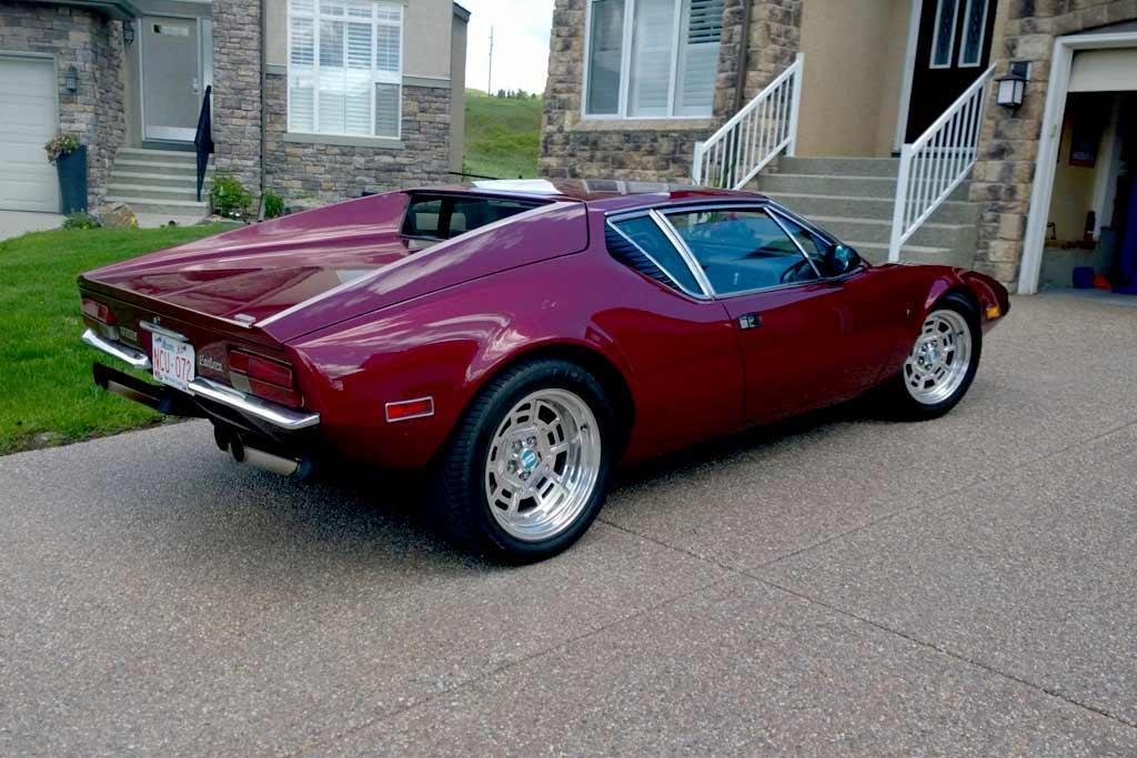 На торги выставили De Tomaso Pantera 1972 года: продать спорткар не удалось