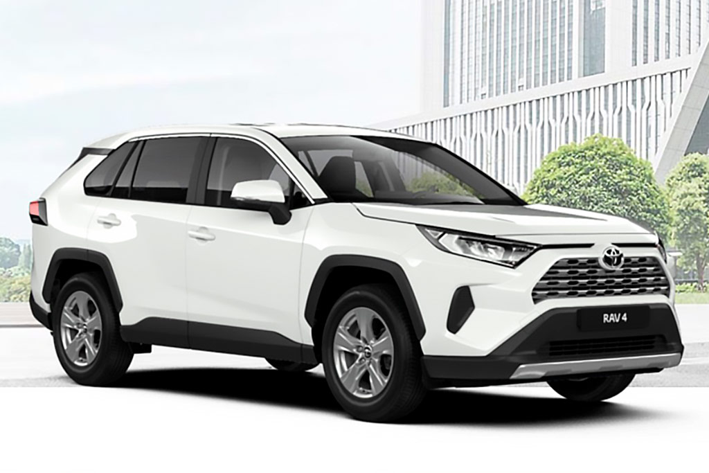 Toyota RAV4 белый