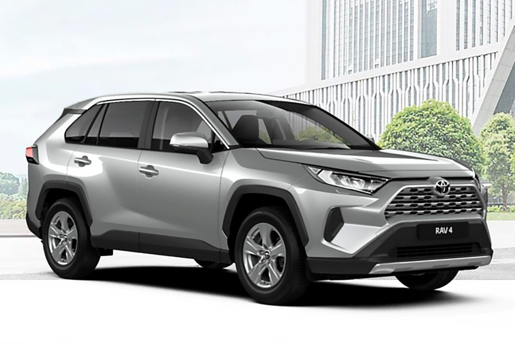 Toyota RAV4 серебристый