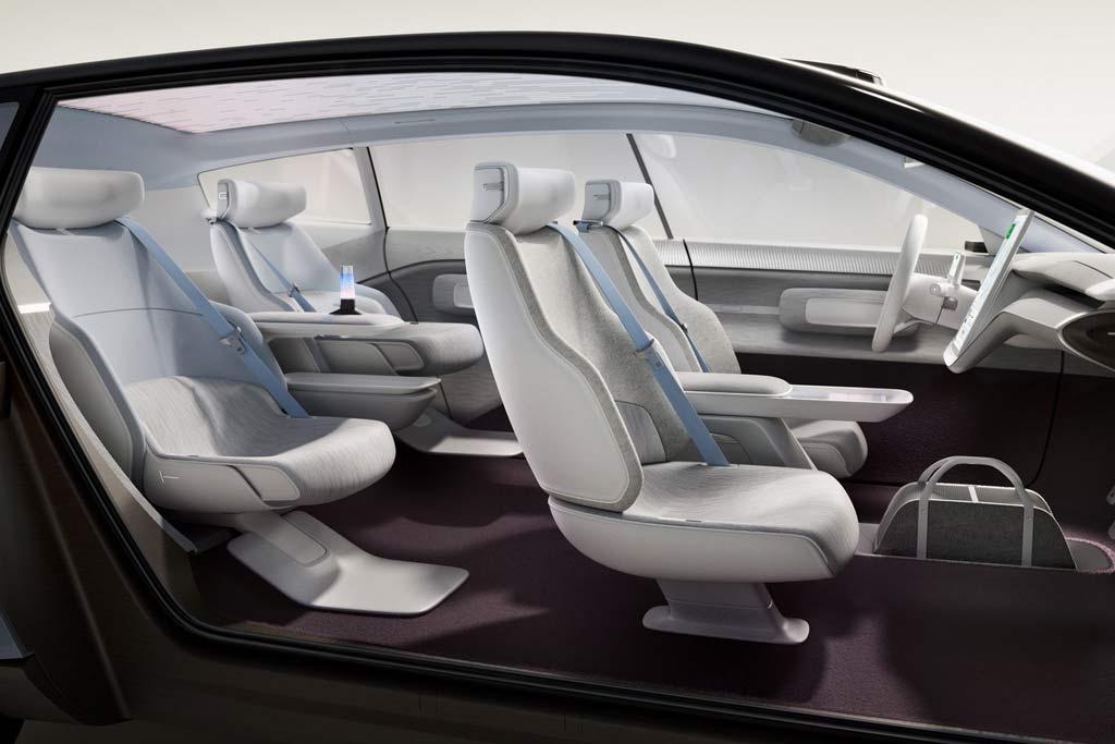 Компания Volvo показала предвестника своих будущих электрических моделей
