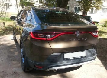 Отзыв о Renault Arkana
