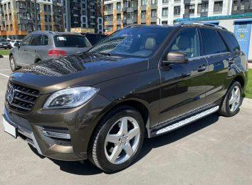 Отзыв о Mercedes ML 350