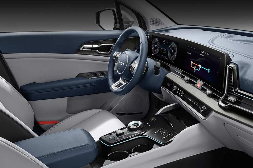 Новый KIA Sportage 5 поколения получил гибридную модификацию