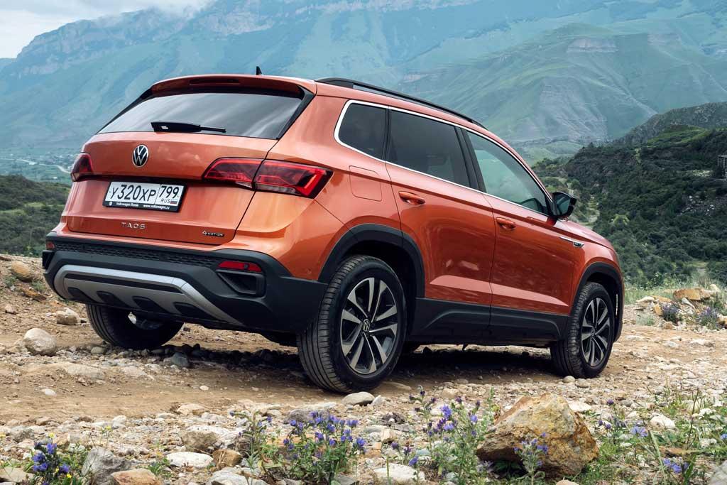 Новая модель VW Taos