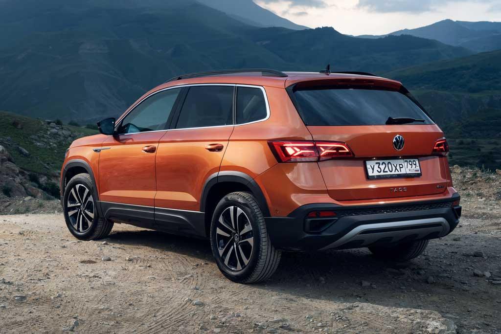 Volkswagen Taos в новом кузове