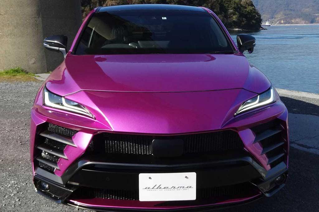 Хочу быть похожим на Lamborghini Urus: тюнеры разработали любопытный обвес для Тойоты