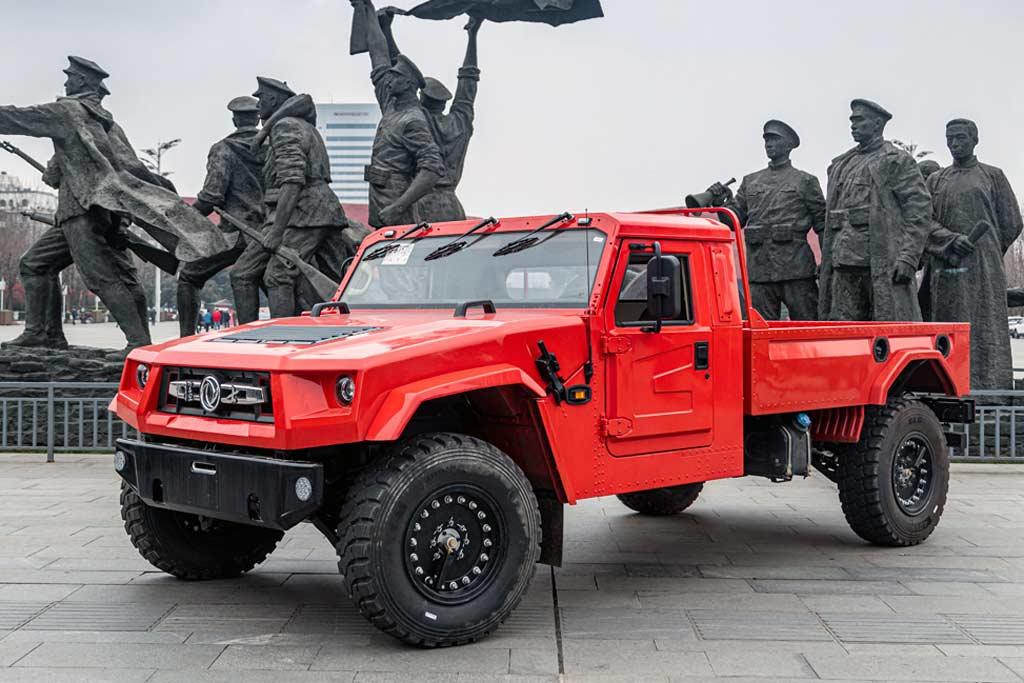 Dongfeng Warrior M50: легальная копия Хаммера для гражданского рынка Китая
