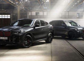 BMW X5 и X6 Black Vermilion