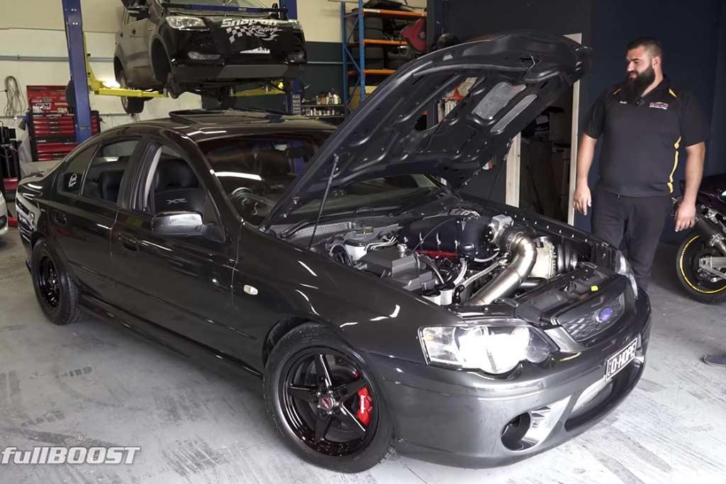 Монструозный Ford Falcon XR6 Turbo с мотором LS V8 удивил характеристиками