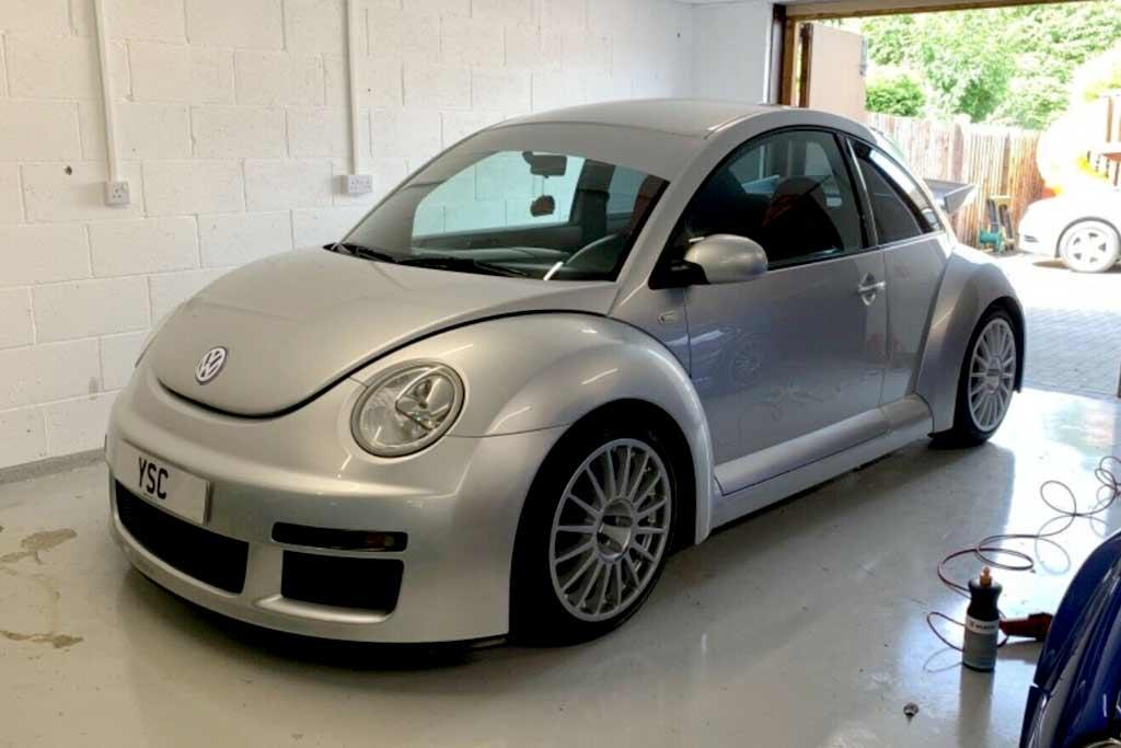 Владелец VW Beetle просит за свой хэтчбек ₽4,5 млн: это редкая версия RSi