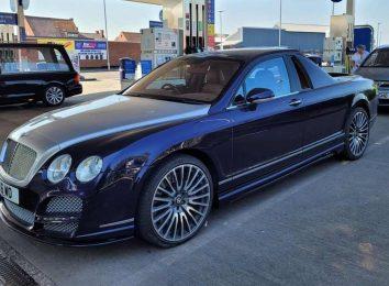 Пикап Decadence на базе Bentley