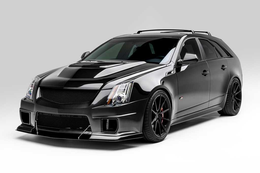 Бешеный «сарай»: в продаже 781-сильный Cadillac CTS-V Wagon