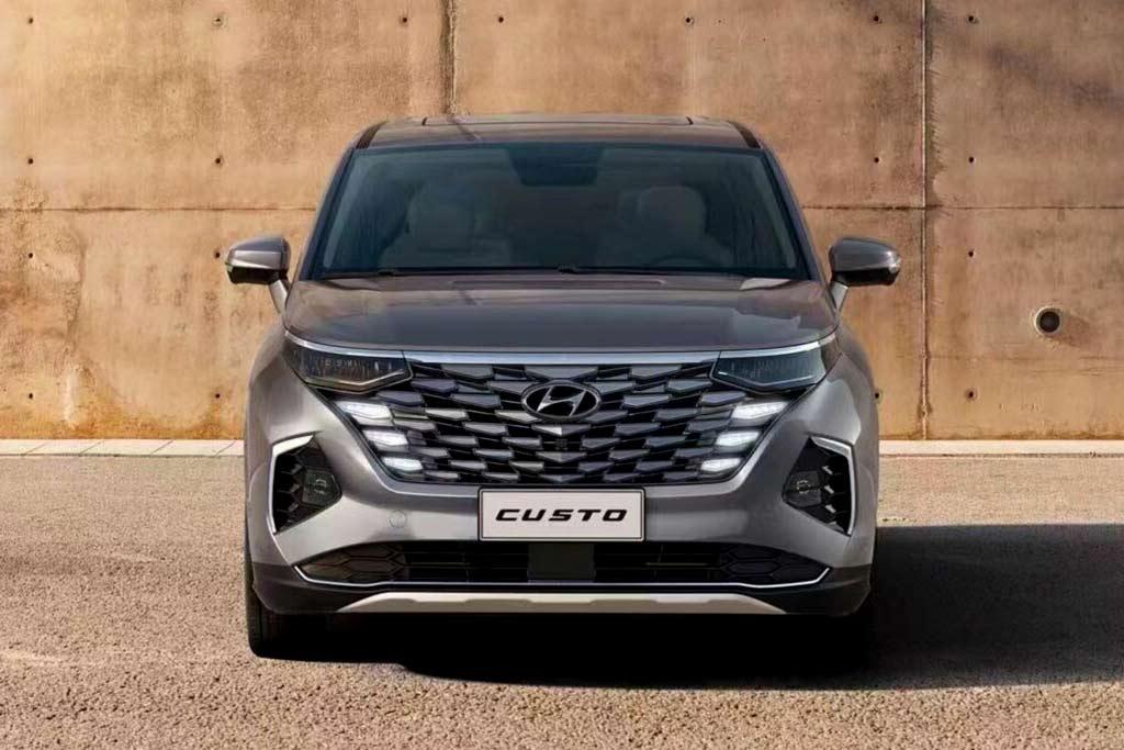 Hyundai Custo: предствлен минивэн с дизайном в стиле нового Tucson