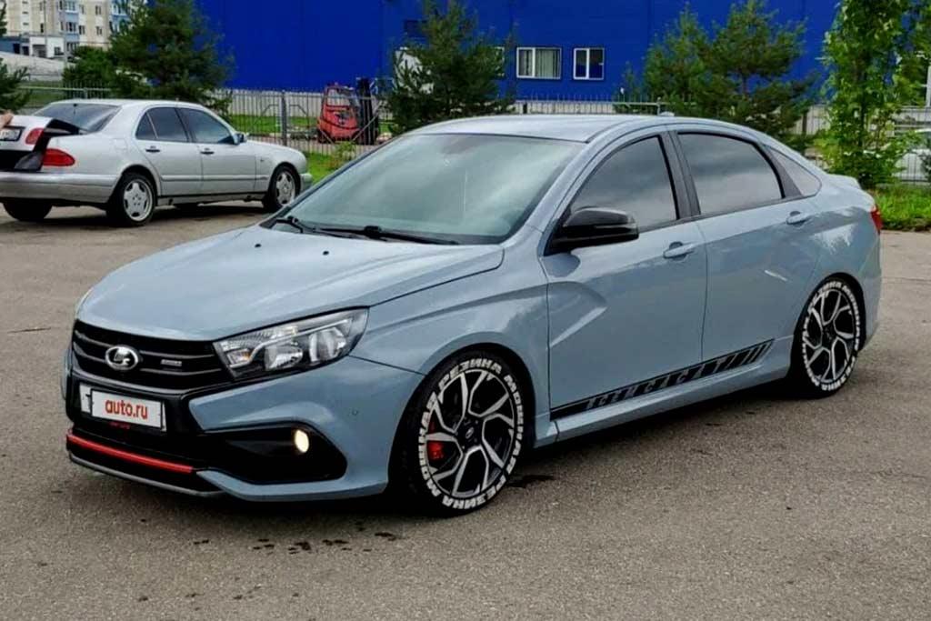 На вторичке продается Lada Vesta Sport за ₽1,2 млн: продавец обосновал цену