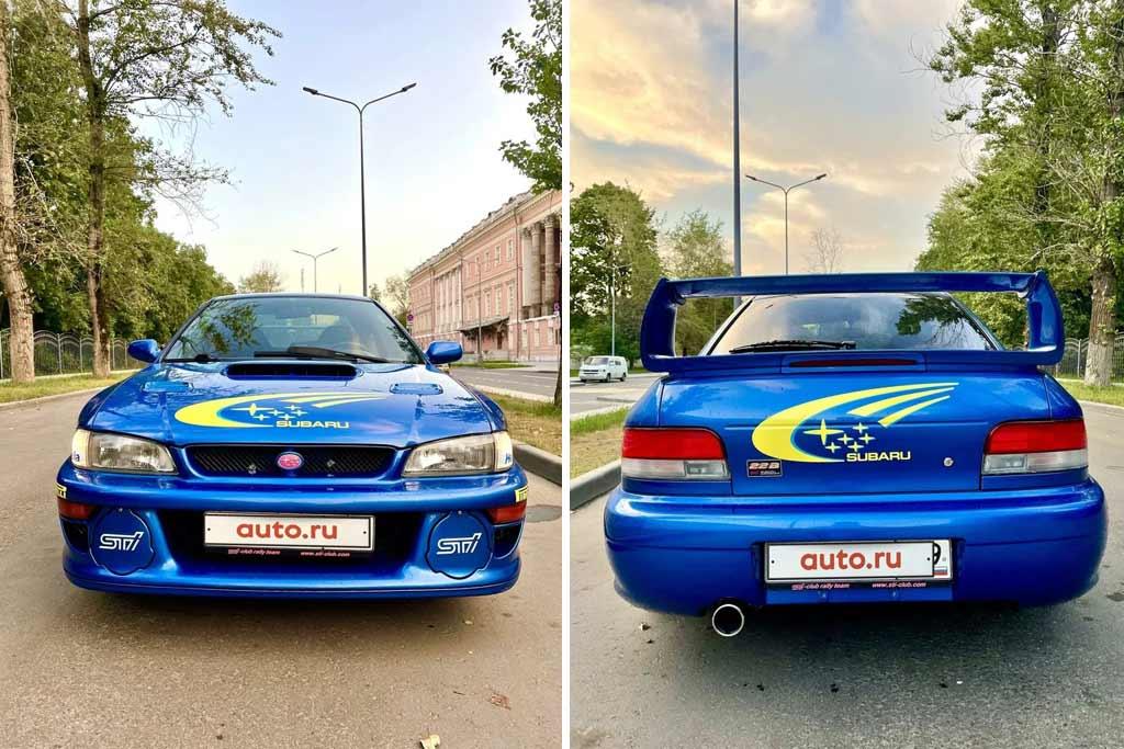 Subaru Impreza WRX STi 1998