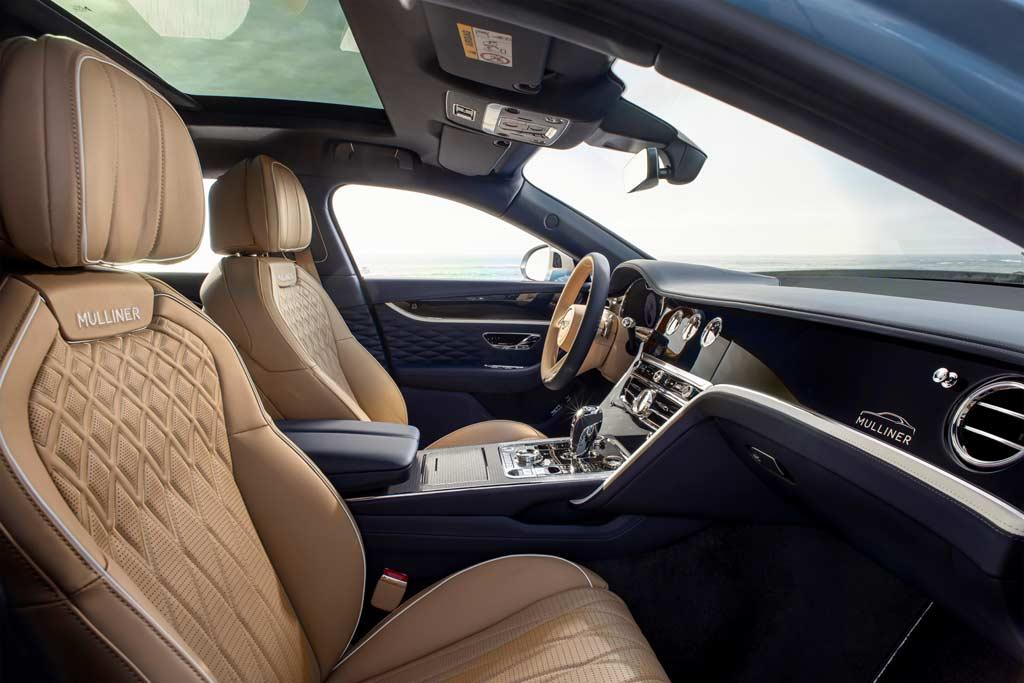 В подразделении Mulliner добавили роскоши седану Bentley Flying Spur
