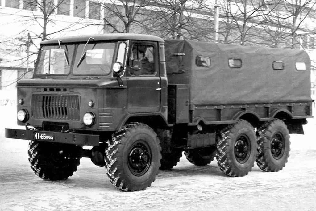 Почему именно «Шишига»: интересные факты про грузовик ГАЗ-66