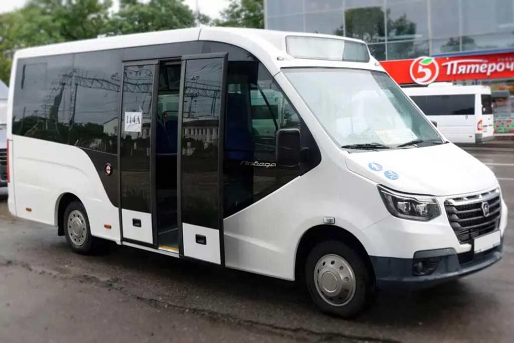 ГАЗ использовал возрожденое имя «Победа» для маршрутного такси