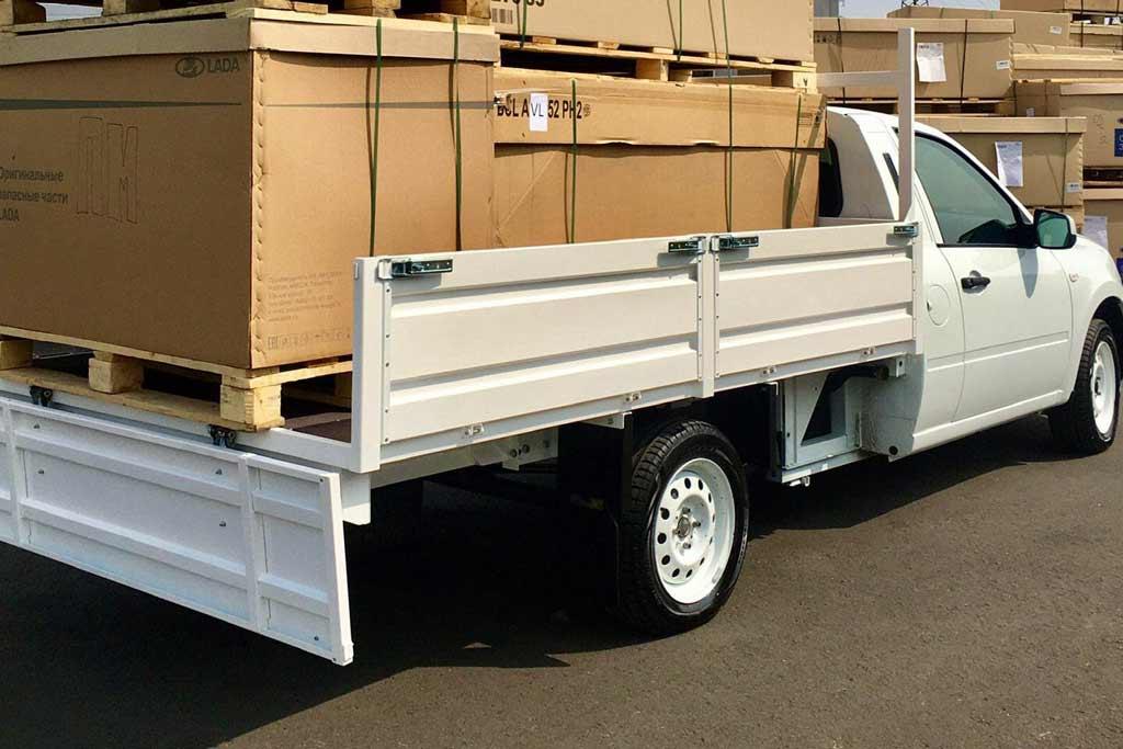 Пикап на базе Lada Granta: он может перевозить почти тонну