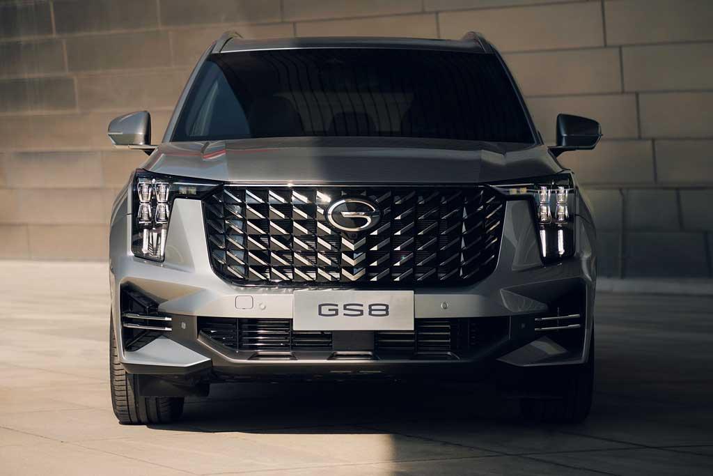 Новый GAC GS8 2022 второго поколения обзавелся солидным дизайном