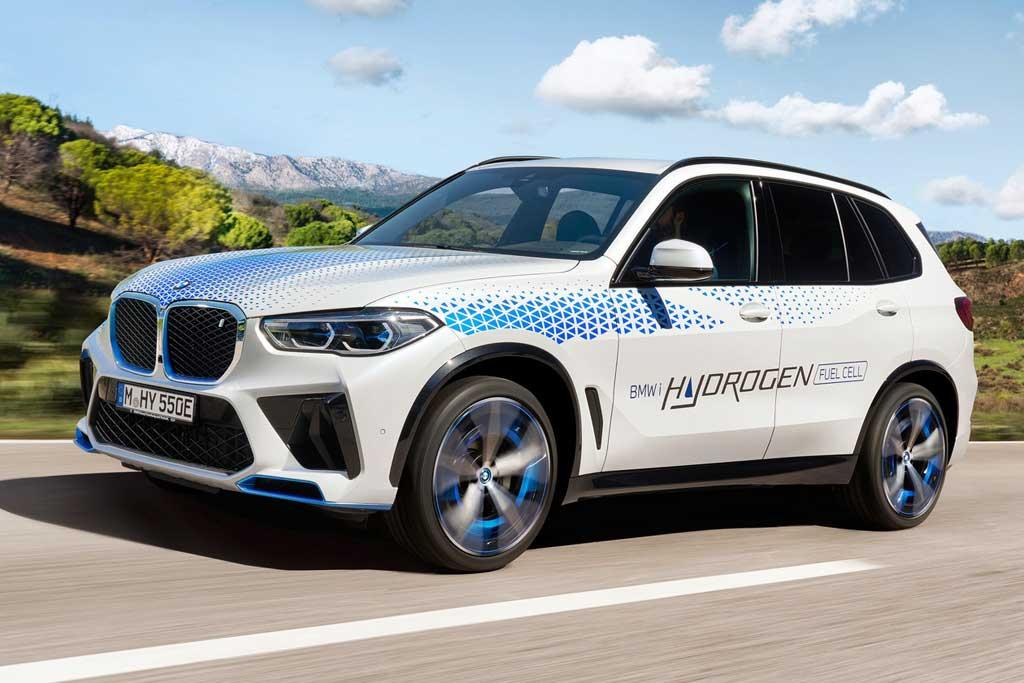 BMW iX5 Hydrogen: немцы презентовали водородную версию кроссовера