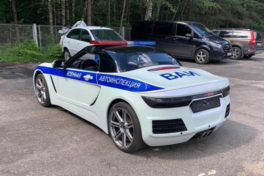 Создатели родстера «Крым» подготовили его модификацию для полиции