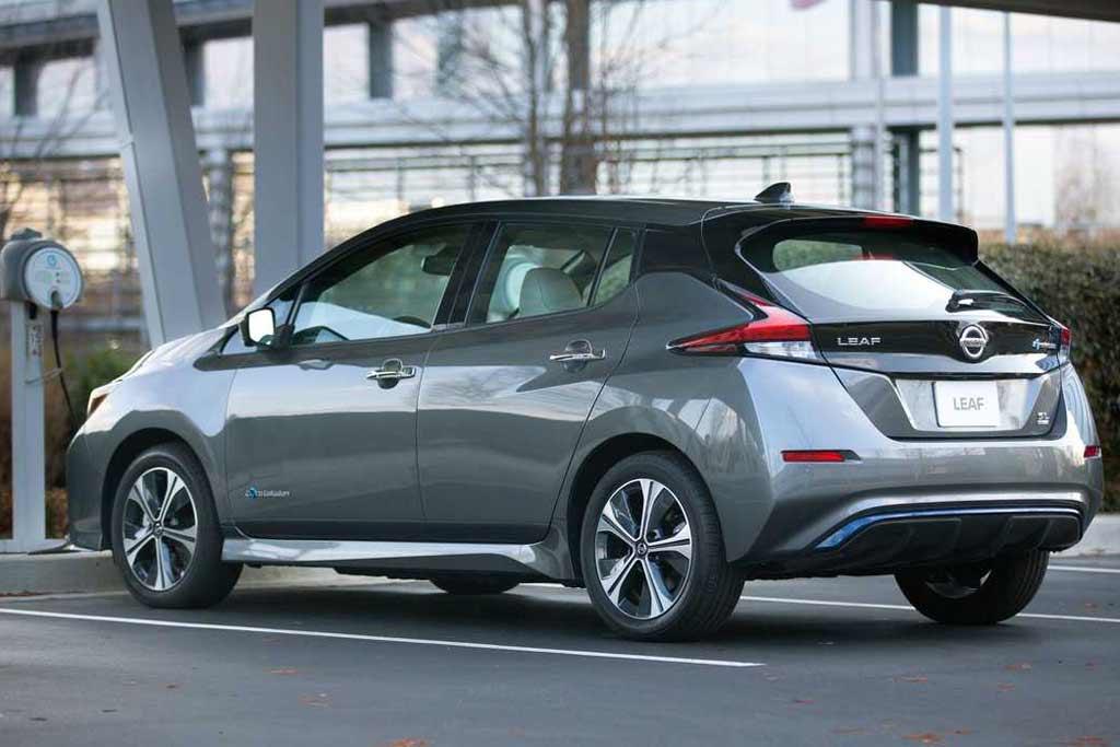 Электрический Nissan Leaf предлагают в лизинг всего за 6500 рублей в месяц