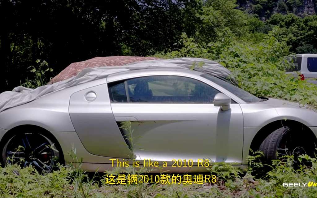 Блогеры показали свалку люксовых машин в Китае, которые никому не нужны