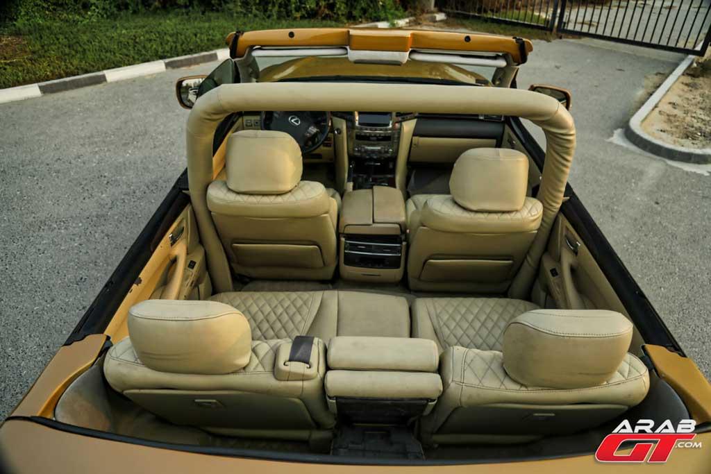 Внедорожник Lexus LX 570 переделали в кабриолет для весьма необычной цели