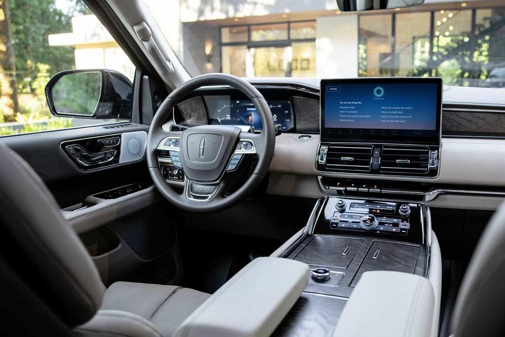 Обновленный Lincoln Navigator 2022 получил точечные изменения
